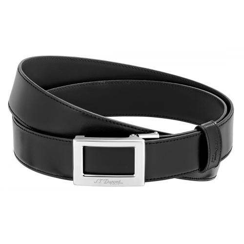 0009da61b62c ceinture st dupont delta box noir et marron autoreversible