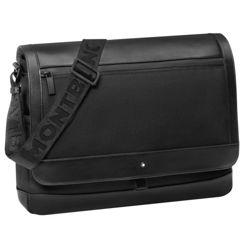 messenger sac reporter my montblanc nightflight. Black Bedroom Furniture Sets. Home Design Ideas